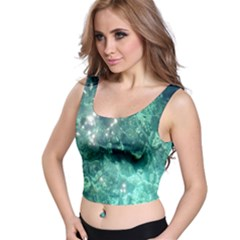 Water Full All Over Print Crop Top