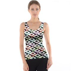 Square Abstract Tank Top Full All Over Print Tank Top