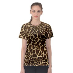 Little Giraffe Women s Full All Over Print Sport T-shirt