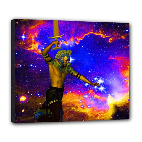 Star Fighter Deluxe Canvas 24  X 20  (framed)