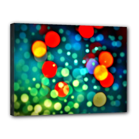A Dream Of Bubbles Canvas 16  x 12  (Framed)
