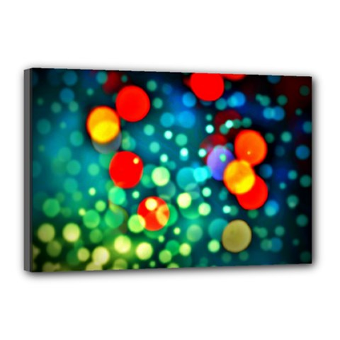 A Dream Of Bubbles Canvas 18  x 12  (Framed)