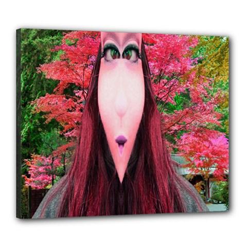 Tree Spirit Canvas 24  x 20  (Framed)