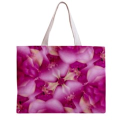 Beauty Pink Abstract Design Full All Over Print Tiny Tote Bag