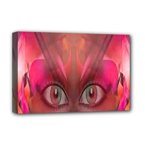 Hypnotized Deluxe Canvas 18  x 12  (Framed)