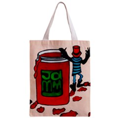 Jammy Dodger Full All Over Print Classic Tote Bag