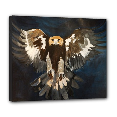 GOLDEN EAGLE Deluxe Canvas 24  x 20  (Framed)