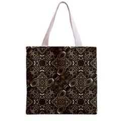 Steam Punk Pattern Print Full All Over Print Grocery Tote Bag