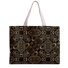 Steam Punk Pattern Print Full All Over Print Tiny Tote Bag