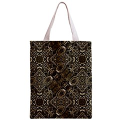 Steam Punk Pattern Print Full All Over Print Classic Tote Bag