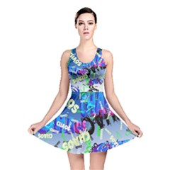 Pure Chaos Full All Over Print Reversible Skater Dress