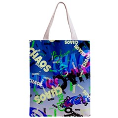 Pure Chaos Full All Over Print Classic Tote Bag
