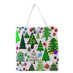 Oh Christmas Tree Full All Over Print Grocery Tote Bag