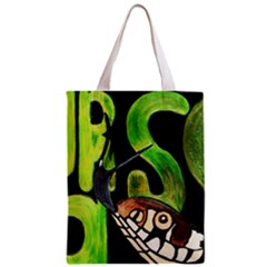 Grass Snake Full All Over Print Classic Tote Bag