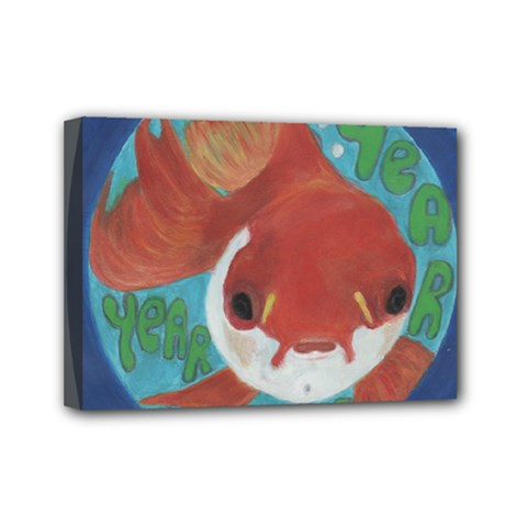 Year After Year Mini Canvas 7  X 5  (framed)