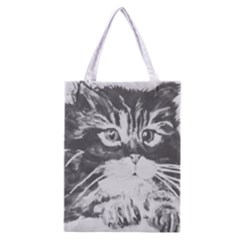 Kitten Full All Over Print Classic Tote Bag