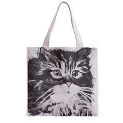 KITTEN Full All Over Print Grocery Tote Bag
