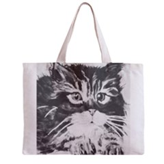 KITTEN BAG Full All Over Print Tiny Tote Bag