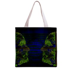 Binary Communication All Over Print Grocery Tote Bag
