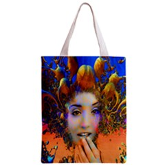 Organic Medusa All Over Print Classic Tote Bag