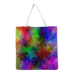 Plasma 21 All Over Print Grocery Tote Bag