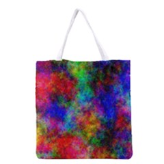Plasma 27 All Over Print Grocery Tote Bag