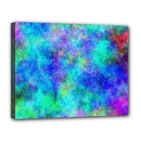 Plasma 28 Canvas 14  X 11  (framed)