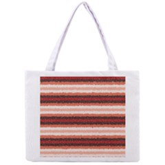 Horizontal Native American Curly Stripes - 1 All Over Print Tiny Tote Bag
