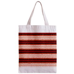 Horizontal Native American Curly Stripes - 1 All Over Print Classic Tote Bag