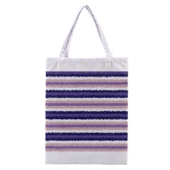 Horizontal Native American Curly Stripes - 2 All Over Print Classic Tote Bag