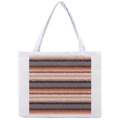 Horizontal Native American Curly Stripes - 4 All Over Print Tiny Tote Bag