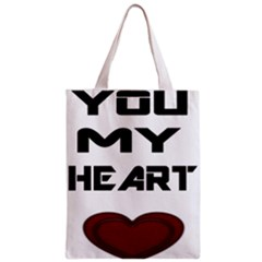 You My Heart All Over Print Classic Tote Bag