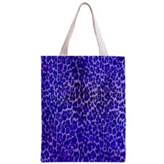 Blue Leopard  All Over Print Classic Tote Bag