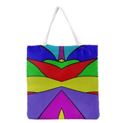 Abstract All Over Print Grocery Tote Bag