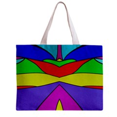 Abstract All Over Print Tiny Tote Bag