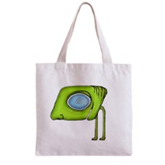 Funny Alien Monster Character All Over Print Grocery Tote Bag