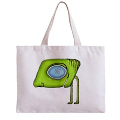 Funny Alien Monster Character All Over Print Tiny Tote Bag