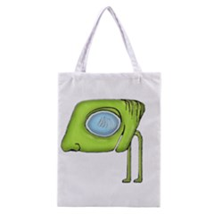 Funny Alien Monster Character All Over Print Classic Tote Bag