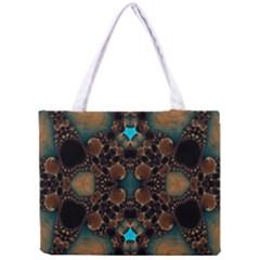 Elegant Caramel  All Over Print Tiny Tote Bag