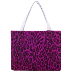 Pink Leopard  All Over Print Tiny Tote Bag