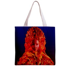 Organic Meditation All Over Print Grocery Tote Bag