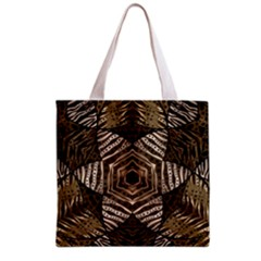 Golden Animal Print  All Over Print Grocery Tote Bag