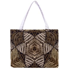 Golden Animal Print  All Over Print Tiny Tote Bag