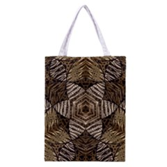 Golden Animal Print  All Over Print Classic Tote Bag