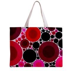 Retro Polka Dot  All Over Print Tiny Tote Bag