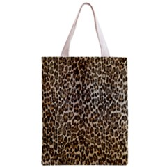 Chocolate Leopard  All Over Print Classic Tote Bag