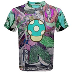Lives up All Over Print Coolmax Cotton Tee (Men)
