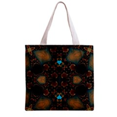 Coffee Cream  All Over Print Grocery Tote Bag