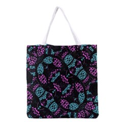 Ornate Dark Pattern  All Over Print Grocery Tote Bag