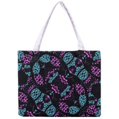 Ornate Dark Pattern  All Over Print Tiny Tote Bag